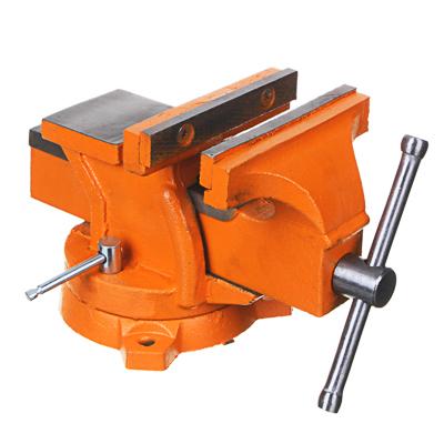668-012 Тиски слесарные с поворотным механизмом 125мм