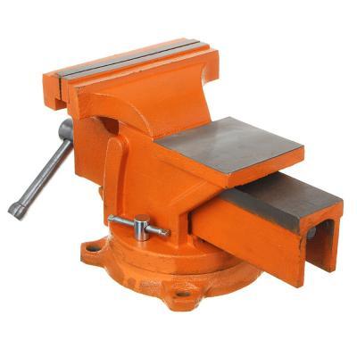 668-017 ЕРМАК Тиски слесарные с поворотным механизмом 200мм