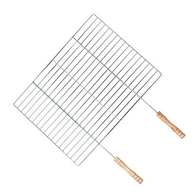 333-365 GRILLBOOM Решетка-гриль в виде сетки большая, 40х(30+19)см