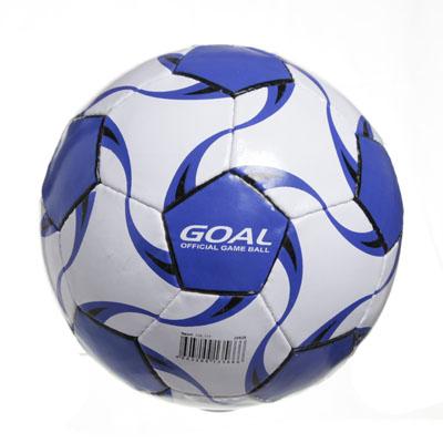 """133-177 Мяч футбольный 5"""" Goal, ПВХ, 3сл. 350гр, 2010/13АВС"""