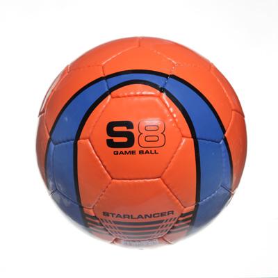 """133-179 Мяч футбольный 5"""" S8, ПУ 4сл. 420гр, 2010/15AВСD"""