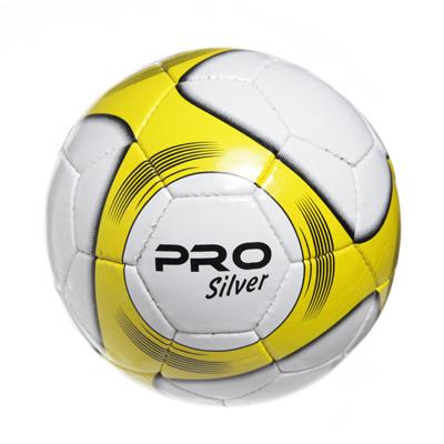 """133-180 Мяч футбольный 5"""" Altis Pro Silver, ПУ, 4сл. 420гр, 2010/12ABC"""
