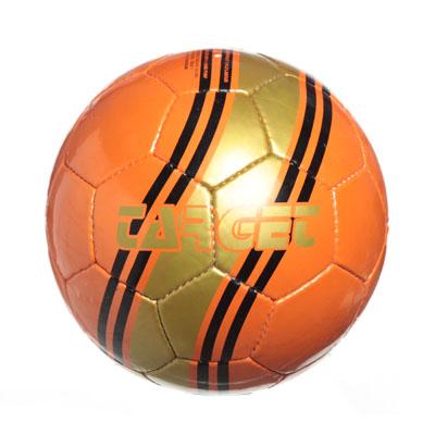 "133-182 Мяч футбольный 5"" Target, shiny latherite 350гр, 2010/26ABCD"