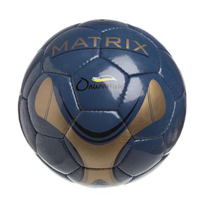 """133-189 Мяч футбольный 5"""" Matrix, ПУ, 4сл. 420гр, 2021/D"""