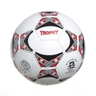 """133-193 Мяч футбольный 5"""" Trophy, ПУ, 3сл. 320гр, 2039/A"""