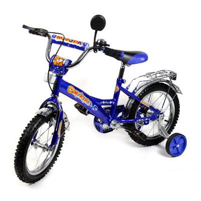 "195-371 Велосипед 12"" Maxxpro V1-12, комб. тормоз, фиолетовый"