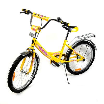 "195-383 Велосипед 20"" Maxxpro V1-20, комб. тормоз, фиолет."