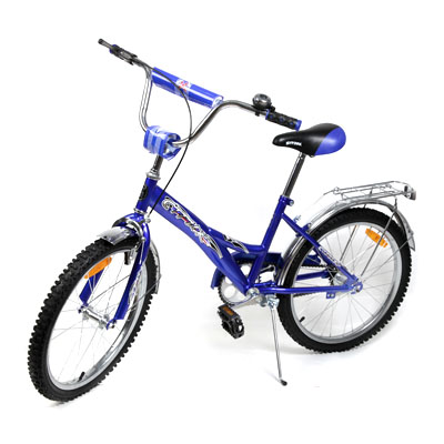 """195-384 Велосипед 20"""" Maxxpro V2-20, комб. тормоз, зеленый"""