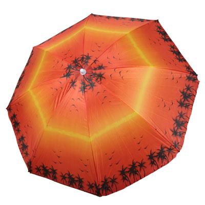 333-395 Зонт пляжный 180см (матер. лавсан) HY-1004 4 цв., с ножкой