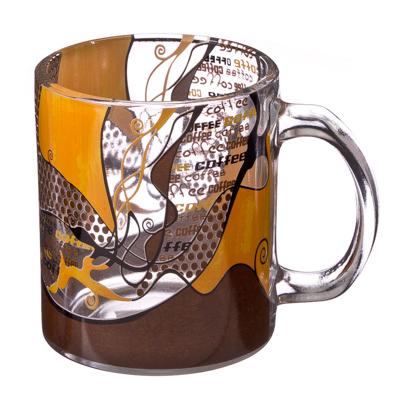 "806-226 VETTA Кружка стеклянная, 350мл, ""Кофе"" HO9005"