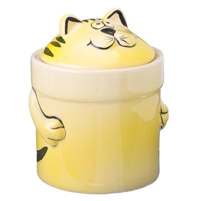824-984 VETTA Солнечный кот Банка для сыпучих продуктов 200мл, PX09068