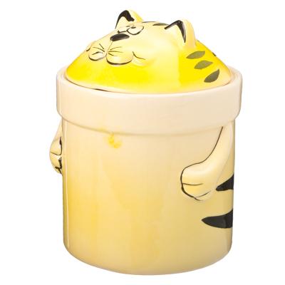 824-985 VETTA Солнечный кот Банка для сыпучих продуктов 420мл, PX09067