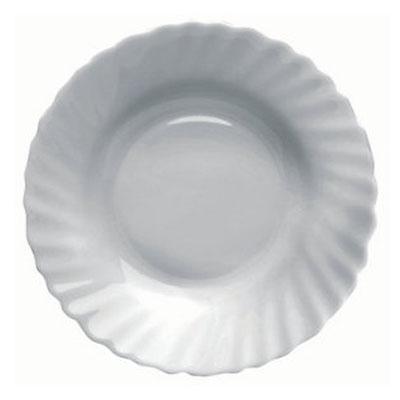 818-365 VETTA Бьянко Тарелка суповая опаловое стекло 202мм, 250мл HSP 80