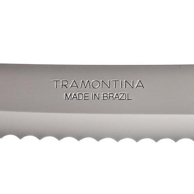 871-162 Нож для хлеба 18 см Tramontina Athus, черная ручка, 23082/007