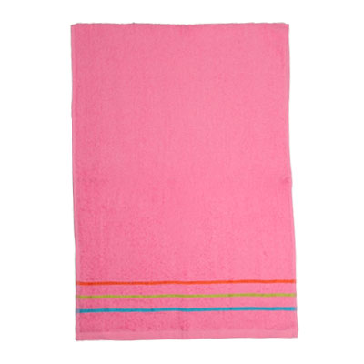 484-007 VETTA Полотенце банное, 100% хлопок, 45x90см розовое