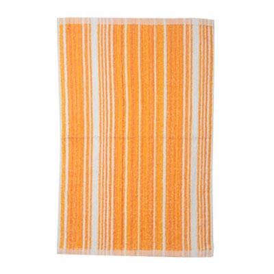 484-010 VETTA Полотенце банное, 100% хлопок, 40x60см, Волна оранжевое