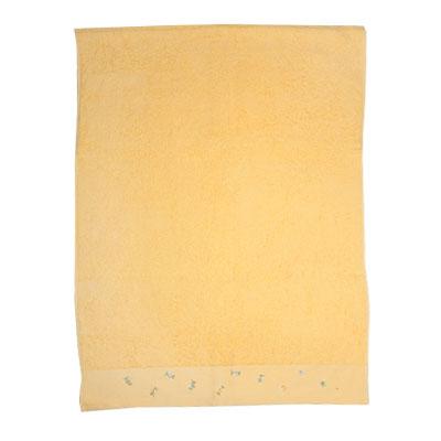 484-015 VETTA Полотенце банное с вышивкой 70x130см, Одуванчик