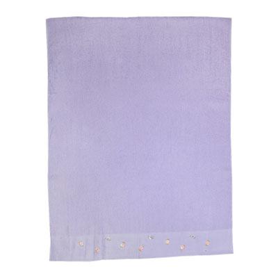 484-016 VETTA Полотенце банное с вышивкой 70x130см, Сирень