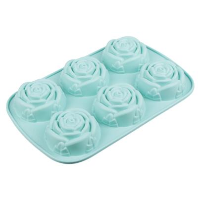891-007 Форма для выпечки VETTA Розы, 28x18x3 см, силикон