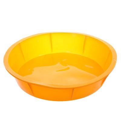 891-008 Форма для выпечки круглая, силикон, 25x5.5 см, VETTA