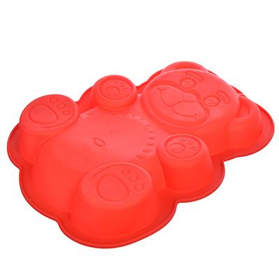 891-011 Форма для выпечки VETTA Медвежонок, 30х23х3 см, силикон