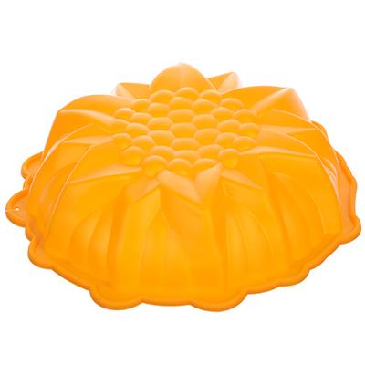 891-014 Форма для выпечки VETTA Снежинка, 23х5,5 см, силикон