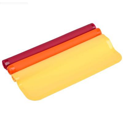 891-033 VETTA Коврик термостойкий для противня, силикон, 33х23х0,08см, 3 цвета, HS-012C