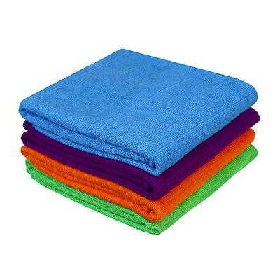 448-021 Тряпка для пола из микрофибры в клетку, 50х70 см, 80 гр, 4 цвета, VETTA