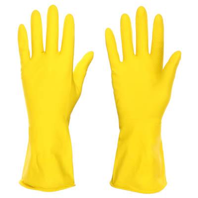 447-006 VETTA Перчатки резиновые желтые L