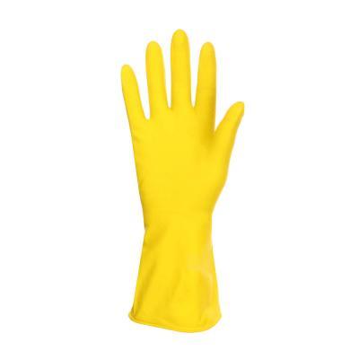 447-008 Перчатки резиновые желтые, XL, VETTA