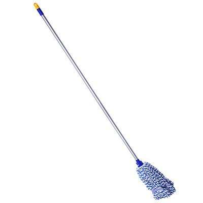 444-051 NECO Швабра моп с насадкой из микрофибры для влажной уборки арт.10-4063-11