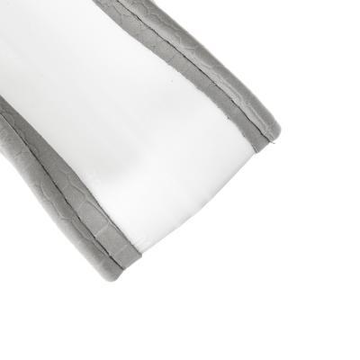 708-395 NEW GALAXY Оплетка руля, спонж, с захватом руля, светло-серый, разм. (M)
