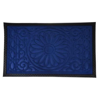 466-061 VETTA Коврик ворсовый с резиновой каймой, 45x75см, 4 цвета, CR031