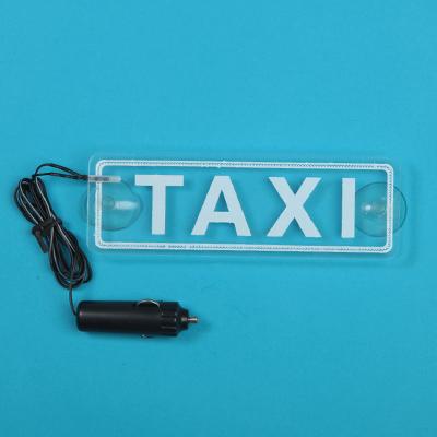768-698 NEW GALAXY Знак Такси c LED подсветкой, на присосках 76996