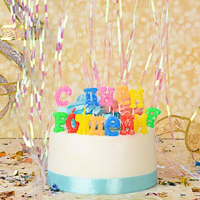 """889-020 Свечи для торта? Капитан Весельчак """"С днем рождения"""""""
