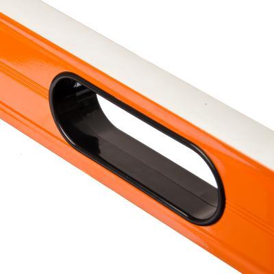 659-045 ЕРМАК Profi уровень магнитный с фронтальным глазком и ручками 120см.