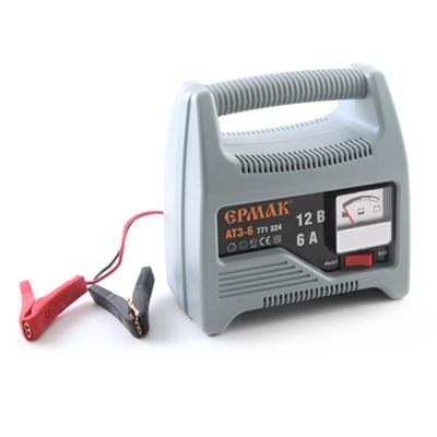 771-324 ЕРМАК Зарядное устройство трансформаторное автомат АТЗ-6 (max 6A/12V)
