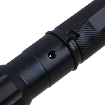 328-125 ЧИНГИСХАН Фонарь металлический XP-E LED, 3xAAA, алюминий, 15,5x3 см