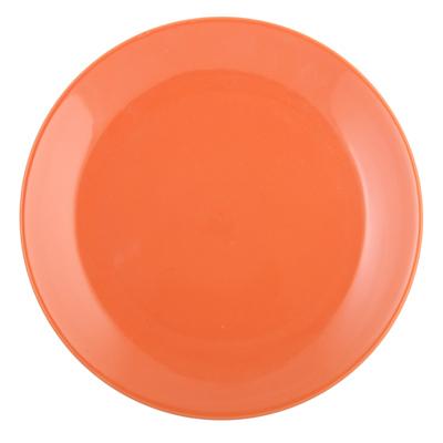816-356 VETTA Атон Тарелка подстановочная оранжевая керамика 27см