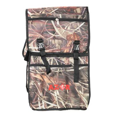 338-353 AZOR Сумка-рюкзак рыбака, полиэстер, DS-50л, 420 Den, камуфляж-ветки