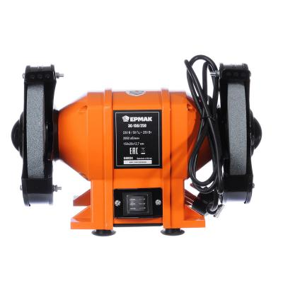 646-024 ЕРМАК Станок заточной электр. ЗС-150/250, 250Вт, 150x20x12.7мм, 2950 об/мин