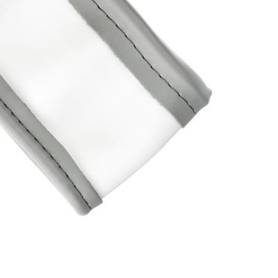 """708-418 NEW GALAXY Оплетка руля, экокожа, со вставками """"карбон"""", с эргоном. захватом, серый, разм. (М)"""