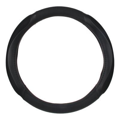 708-426 NEW GALAXY Оплетка руля, спонж, с захватом руля, черный, разм. (M)