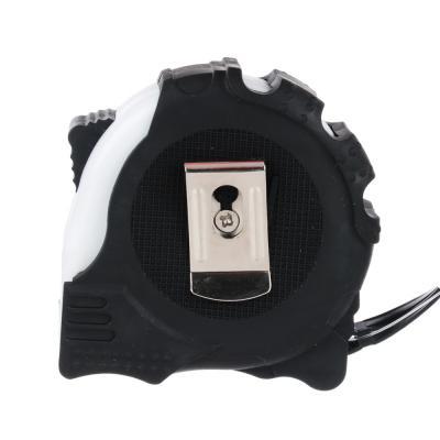 658-038 Рулетка с обрезиненным корпусом 5х19мм, 3 фиксатора