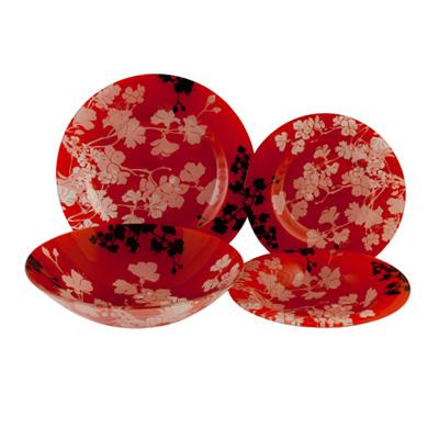 818-674 VETTA Лиди Набор столовой посуды 19 пр. стекло S3000/19-D017