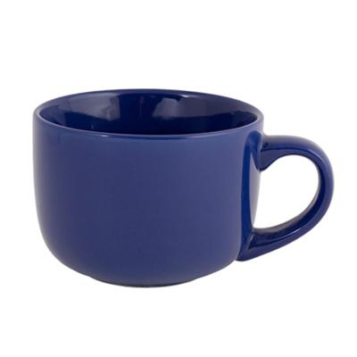 816-028 VETTA Энкиду Бульонница керамика, 500мл, синяя