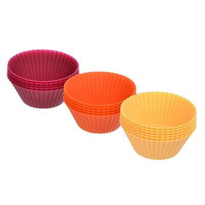 """891-055 Набор форм для выпечки, 4.5х2.2 см, 16шт, силикон, VETTA """"Мини Кекс"""""""