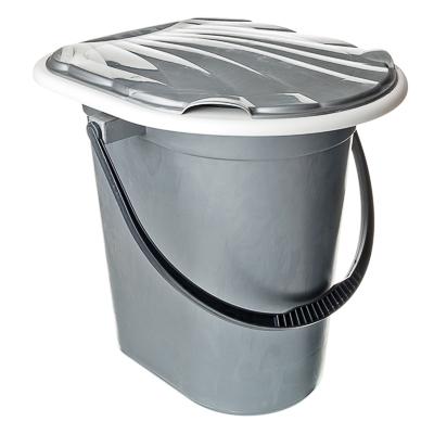 444-070 Ведро-туалет с крышкой 18л, Мегапласт