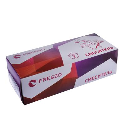 553-017 FRESSO Смеситель SH378/74 для ванны, дл.излив, керам. картридж 40 мм,шаров.диверт, хром