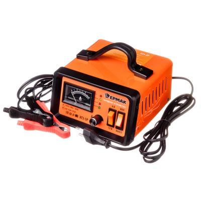 771-022 ЕРМАК Зарядное устройство трансформаторное автомат АТЗ-5Р, 0-5A, 6В/12В, металл корпус, регул. тока